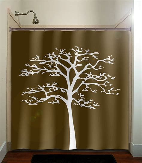 brown tree shower curtain 15 best ideas about brown shower curtains on pinterest