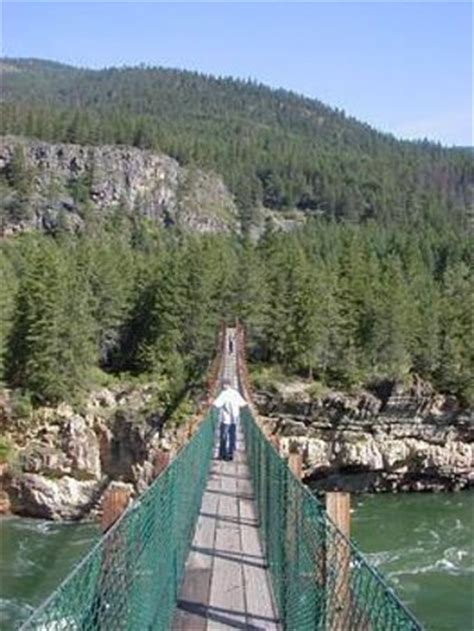 kootenai falls swinging bridge kootenai falls swinging bridge libby mt top tips