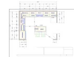 Kitchen Cabinet Design Layout 10 X 15 Kitchen Design If I Use A 30 Quot Then I Could Make The Glass Cabinets That Flank