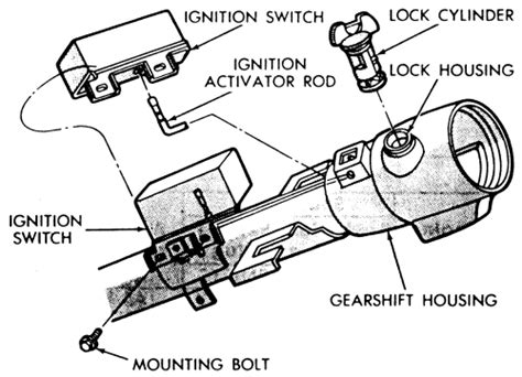 electric power steering 1995 chrysler town country transmission control repair guides steering ignition switch autozone com