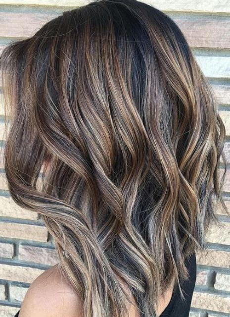 pics of brunettes with hombre ashy brunette ombre highlights hair styles pinterest