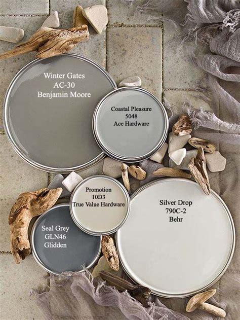 driftwood gray paint colors  bhgcom color palettes   paint colors grey paint