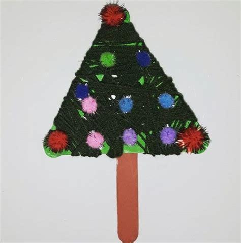 christmas tree pattern preschool kindergarten christmas tree craft idea preschool crafts