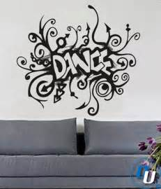 Dance Wall Stickers Dance Removable Vinyl Wall Decal Art Decor Sticker Mural