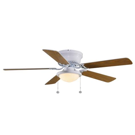 hugger ceiling fans hugger 52 in led white ceiling fan al383led wh outlet