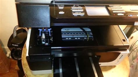 resetting hp officejet pro 8000 hp officejet pro 8500 print head replacement tutorial