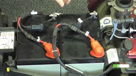 install electric wheelchair batteries youtube