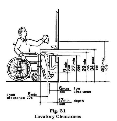 wheelchair accessible bathroom sinks wheelchair accessible bathroom design note