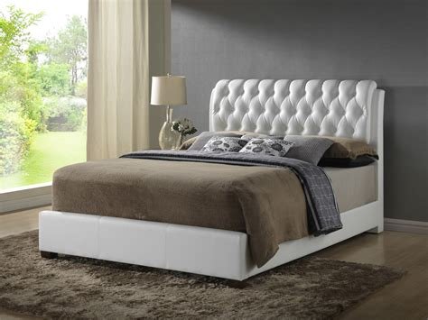 white tufted bedroom set furniture g1570 4 button tufted bedroom set in