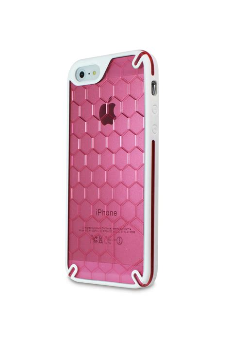 Hp Iphone ozone bee hive iphone 5 cover pink ht ip5 03 hp iphone 5 portable accessories