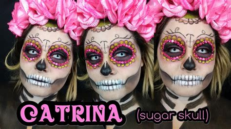 tutorial makeup catrina halloween makeup tutorials 2016 la catrina sugar skull