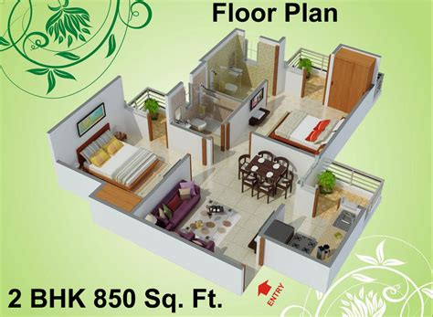 850 Sq Ft 2 Bhk 2t Apartment For Sale In Charms India 850 Sq Ft 2 Bhk 2t Apartment For Sale In Vihaan The