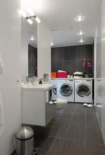 laundry in bathroom ideas integrated bathroom laundry room decor iroonie
