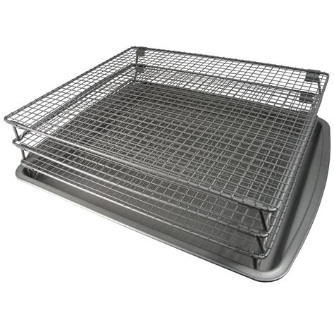Beef Oven Rack by Weston Nonstick 3 Tier Drying Rack And Baking