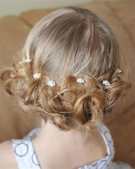 flower girl braided hairstyles for weddings flowergirl hairstyles low bun for flower girls