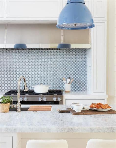 kitchen backsplash blue 2018 blue kitchen island with green half moon barstools contemporary kitchen