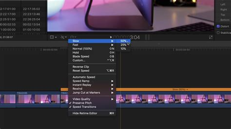 final cut pro slow motion final cut pro x how to improve slow motion in your