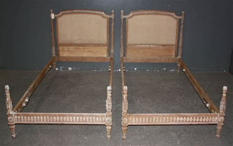 antique twin beds for sale two french louis xvi twin size beds circa 1920 for