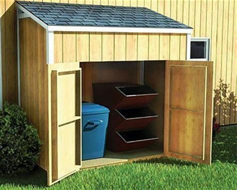 lean  shed plans blueprints  making  small shed