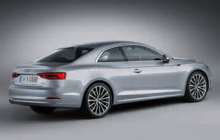 Audi Coupe A5 2016 Audi A5 Coupe Officially Unveiled
