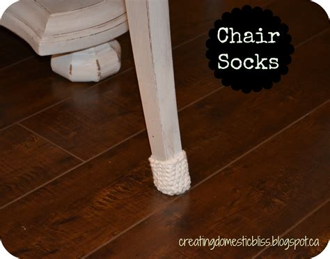 Socks For Wood Floors by Creating Domestic Bliss Presents The Chair Sock