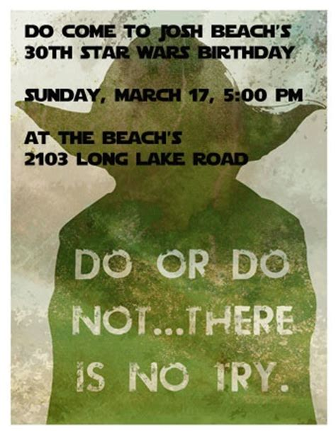 Wars Birthday Quotes Beach Family Josh S Star Wars Birthday Party