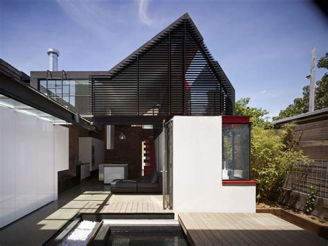 modern architectural style extension to a victorian terrace in the inner city
