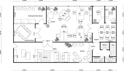 floor plan office layout office planning roomsketcher