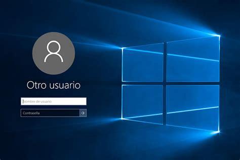 imagenes usuario windows 10 c 243 mo hacer que windows 10 te solicite el usuario y la