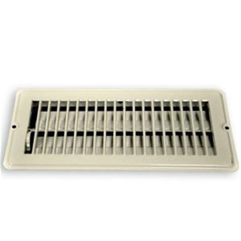 10 X 32 Floor Register - danco 4 in x 10 in steel floor register with 7 8 in