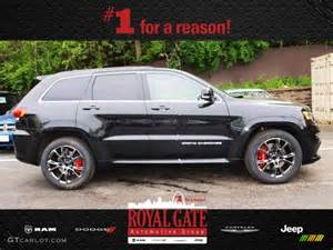 2014 brilliant black pearl jeep grand srt