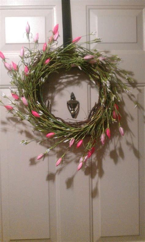diy spring wreath diy spring wreath fun ideas pinterest
