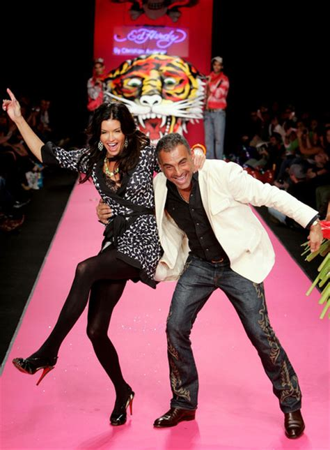 Janice Dickinson Causes At Ed Hardy Show by Janice Dickinson In Ed Hardy Runway Zimbio