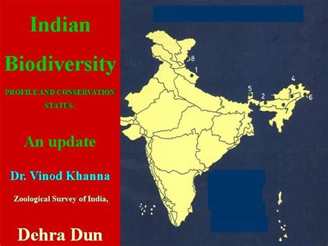 Indian Biodiversity Profile And Conservation Status An Biodiversity Ppt Template Free