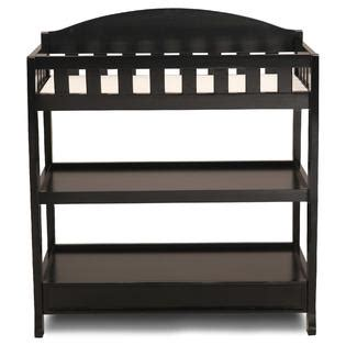 Black Baby Changing Table Delta Children Black Changing Table With Pad Baby Baby Furniture Changing Tables
