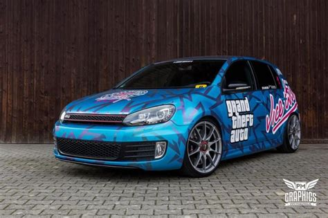 Auto Folierung Online by Grand Theft Auto Vw Golf Mk6 By Schwabenfolia Carwrapping