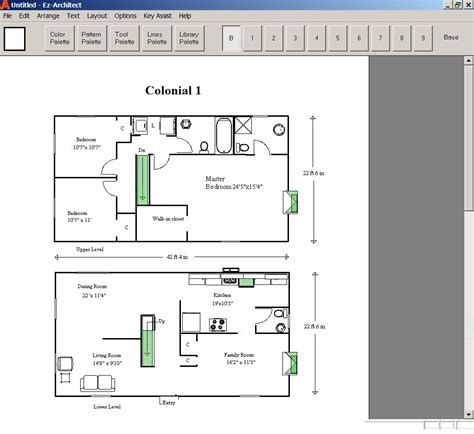 design your own home ez architect for windows 7 and 8 and 10 and xp and vista