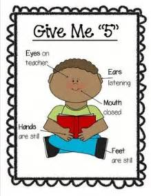Give Me 5 The House Guiding Behaviors Classroom Management Education