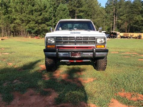 1987 dodge d150 4x4 lifted truck not ford gmc chevy for