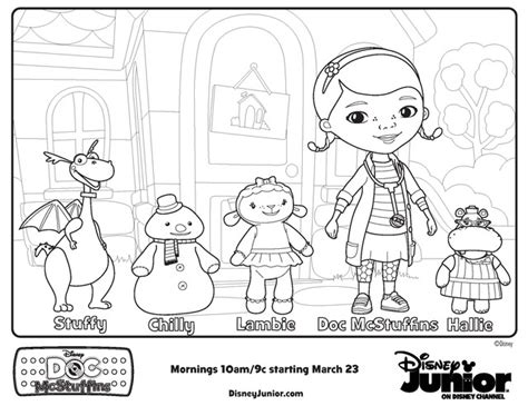 Doc Mcstuffins Doc S In Door Sign Big Book Of Boo Boos Doc Mcstuffins Coloring Pages To Print