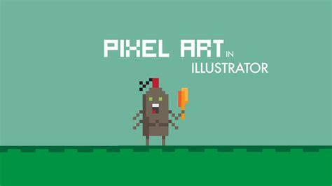 illustrator tutorial vimeo creating pixel art in illustrator on vimeo