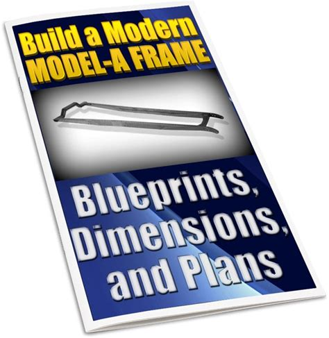a frame blueprints model a frame blueprints dimensions plans to build model