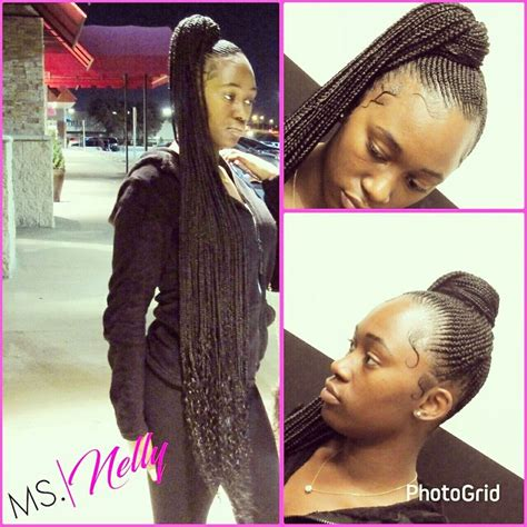 nicki minaj inspired feedin cornrows done by london s 17 best images about braids on pinterest ghana braids