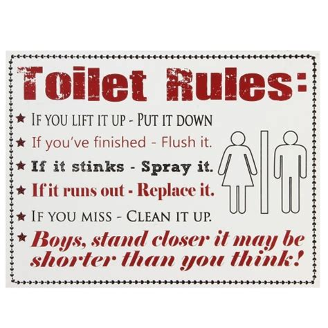 bathroom etiquette sign toilet etiquette signs pictures to pin on pinterest