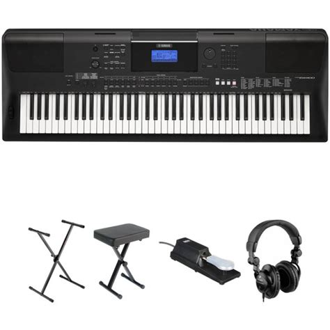 Update Keyboard Yamaha yamaha psr ew400 76 key portable keyboard essential bundle b h