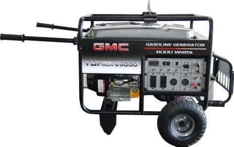 Remote Portable Gmc deals gmc yukon 6 000 watt 13 hp 389cc 4 stroke ohv