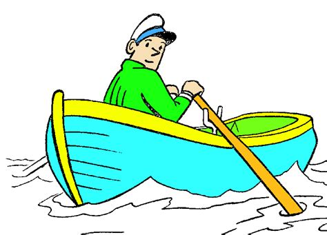 cartoon boat rowing row boat picture cliparts co