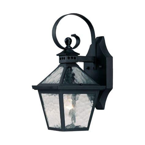 Acclaim Lighting Bay Street Collection 1 Light Matte Black Black Outdoor Light Fixtures