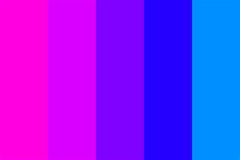 purple pink color pink 2 blue transitions 1 color palette