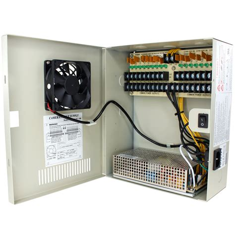 Box Power Ca 18 24v Dc Power Distribution Box With Circulation Window 18